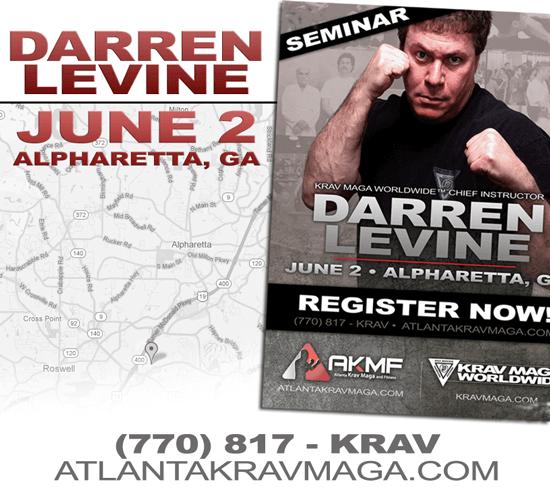 US Chief Instructor Darren Levine in Alpharetta, GA